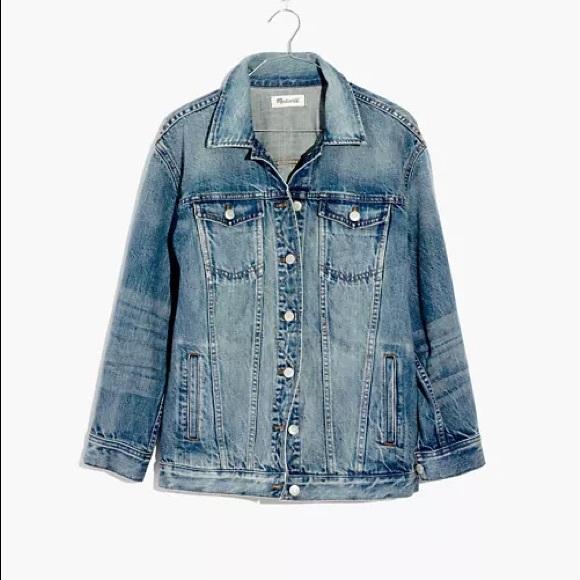 Madewelll Oversized Denim Jacket